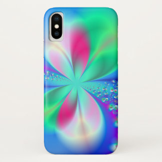 Sylph's Dance Fractal Art iPhone X Case