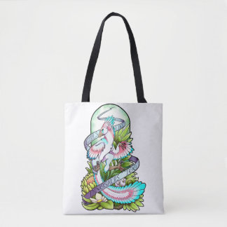 Sylveraptor (Raptor) - Girls Like Dinosaurs Tote Bag