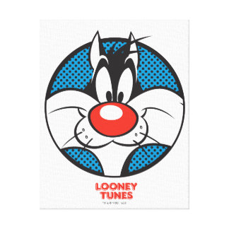 SYLVESTER™ Dotty Icon Canvas Print