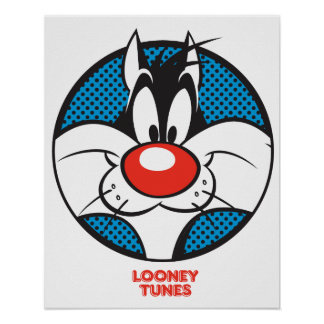 SYLVESTER™ Dotty Icon Poster