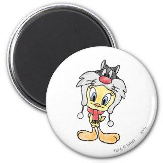 Sylvester Hat Magnet