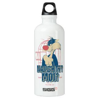 SYLVESTER™- Naughty? Moi? Water Bottle