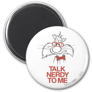 SYLVESTER™ - Talk Nerdy To Me Refrigerator Magnets