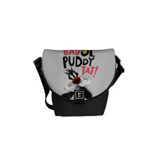 SYLVESTER™ & TWEETY™- Bad Ol' Puddy Tat Courier Bag