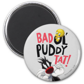 SYLVESTER™ & TWEETY™- Bad Ol' Puddy Tat Magnet