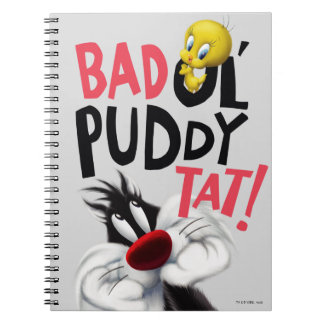 SYLVESTER™ & TWEETY™- Bad Ol' Puddy Tat Notebook