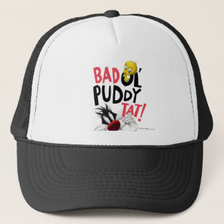 SYLVESTER™ & TWEETY™- Bad Ol' Puddy Tat Trucker Hat