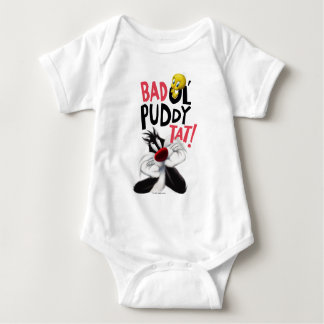 SYLVESTER™ & TWEETY™- Mean Ol' Puddy Tat Baby Bodysuit