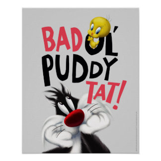 SYLVESTER™ & TWEETY™- Mean Ol' Puddy Tat Poster