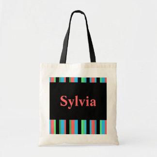 Sylvia Pretty Striped Tote Bag