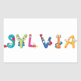 Sylvia Sticker