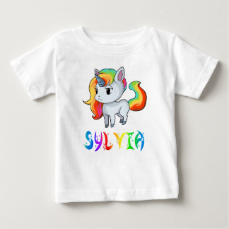 Sylvia Unicorn Baby T-Shirt