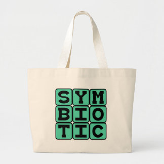 Symbiotic Co-Dependent Relationship Tote Bag