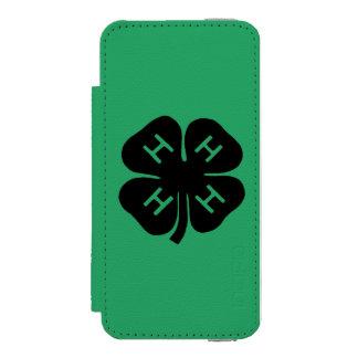 Symbol: 4-H Club Incipio Watson™ iPhone 5 Wallet Case