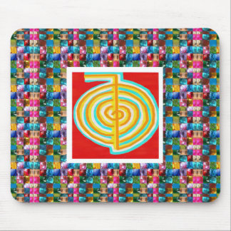 SYMBOL ART : GEM PEARL JEWEL STUDDED SHOW MOUSE PAD