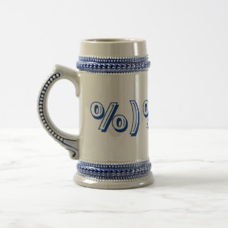 Symbol for DRUNK & GIDDY Beer Steins