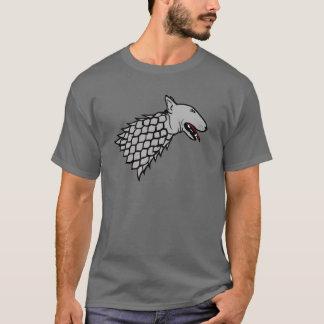Symbol of Bull Terrier in harness T-Shirt