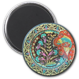 Symbol of Fortune Good Luck Charm 6 Cm Round Magnet