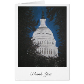 Symbol of Freedom Thank You Card