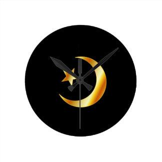 Symbol of Islam religion Wallclock