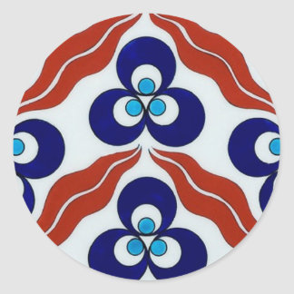 Symbol of Power / Chin-teh-ma-nee Round Sticker