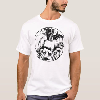 symbol of saint luke (bull with wings) T-Shirt