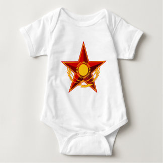 Symbol_of_the_Kazakh_Ministry_of_Defense Baby Bodysuit