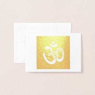Symbol OM Personal Expression Foil Card