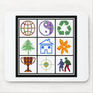 SYMBOL shapes TEMPLATE Resellers Welcome GIFTS Mousepads