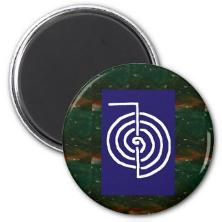 Symbolic Art : Reiki Chokurai 6 Cm Round Magnet