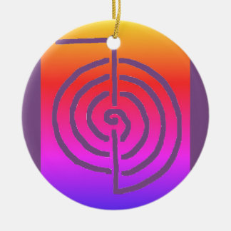 Symbolic Art : Reiki Chokurai Ceramic Ornament