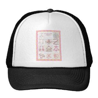 Symbolic ART Reiki Masters Practice Tools Trucker Hats