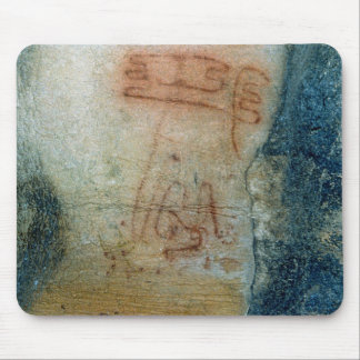Symbolic figures (cave painting) mousepad