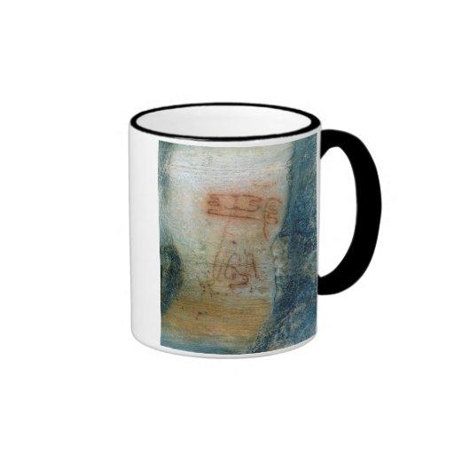 Symbolic figures (cave painting) mugs