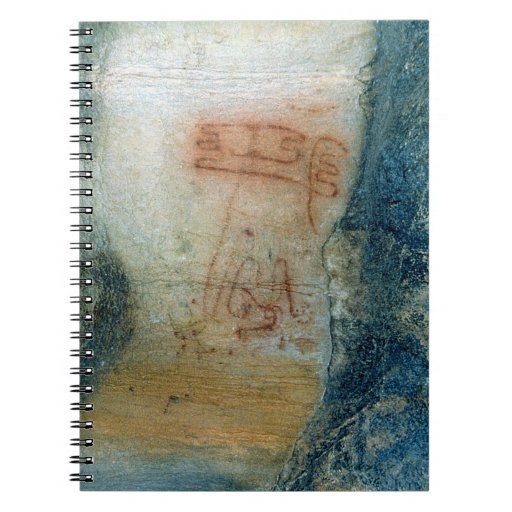 Symbolic figures (cave painting) note books