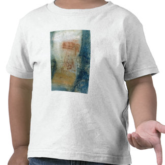 Symbolic figures (cave painting) tee shirts