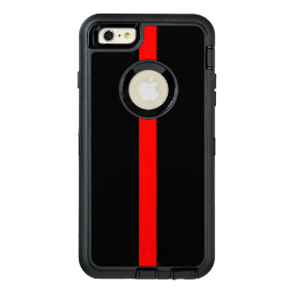Symbolic Thin Red Line on OtterBox Defender iPhone Case