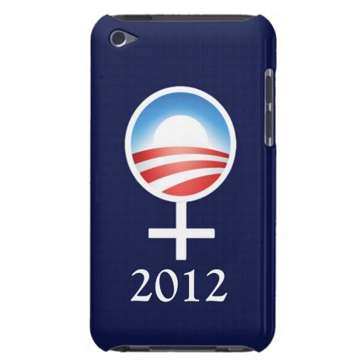 Symbolic Women for Obama 2012 iPod Touch Case