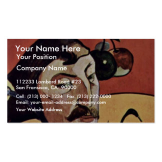 Symbolist Self-Portrait With Halo By Gauguin Paul Pack Of Standard Business Cards