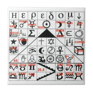 Symbology - the ancient mysteries tile