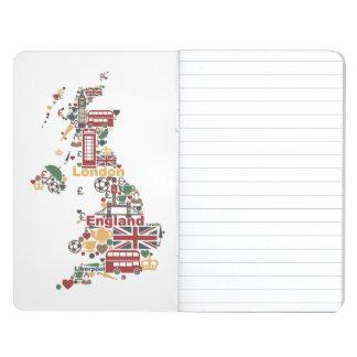 Symbols of England Map Journal