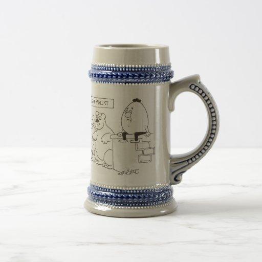 symbols of Wall St Coffee Mug