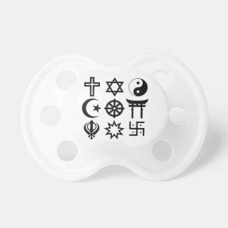 Symetric Religious Symbols Dummy