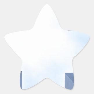 symmetric star sticker