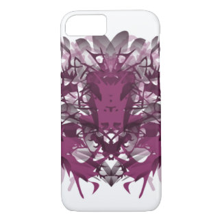Symmetrical abstract phone case