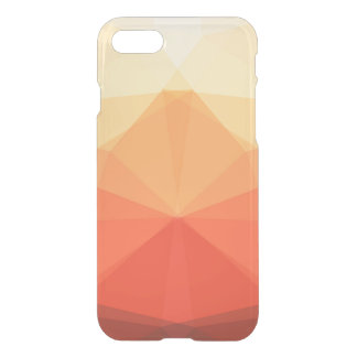 Symmetrical Autumn Triangles iPhone 7 Case