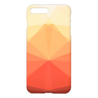 Symmetrical Autumn Triangles iPhone 7 Plus Case
