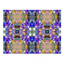 Symmetrical Fantasy Abstract