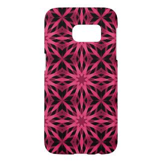 Symmetrical pink black