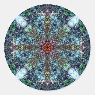 Symmetrical Silk Strands Stickers
